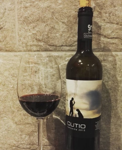 Cata do Vinho Cutio - 2015